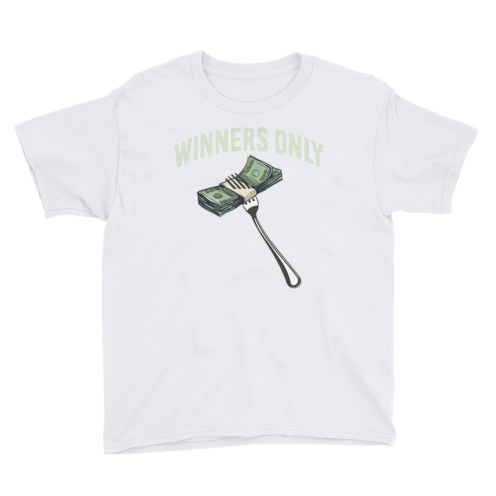 Fork & Money Youth Short Sleeve T-Shirt
