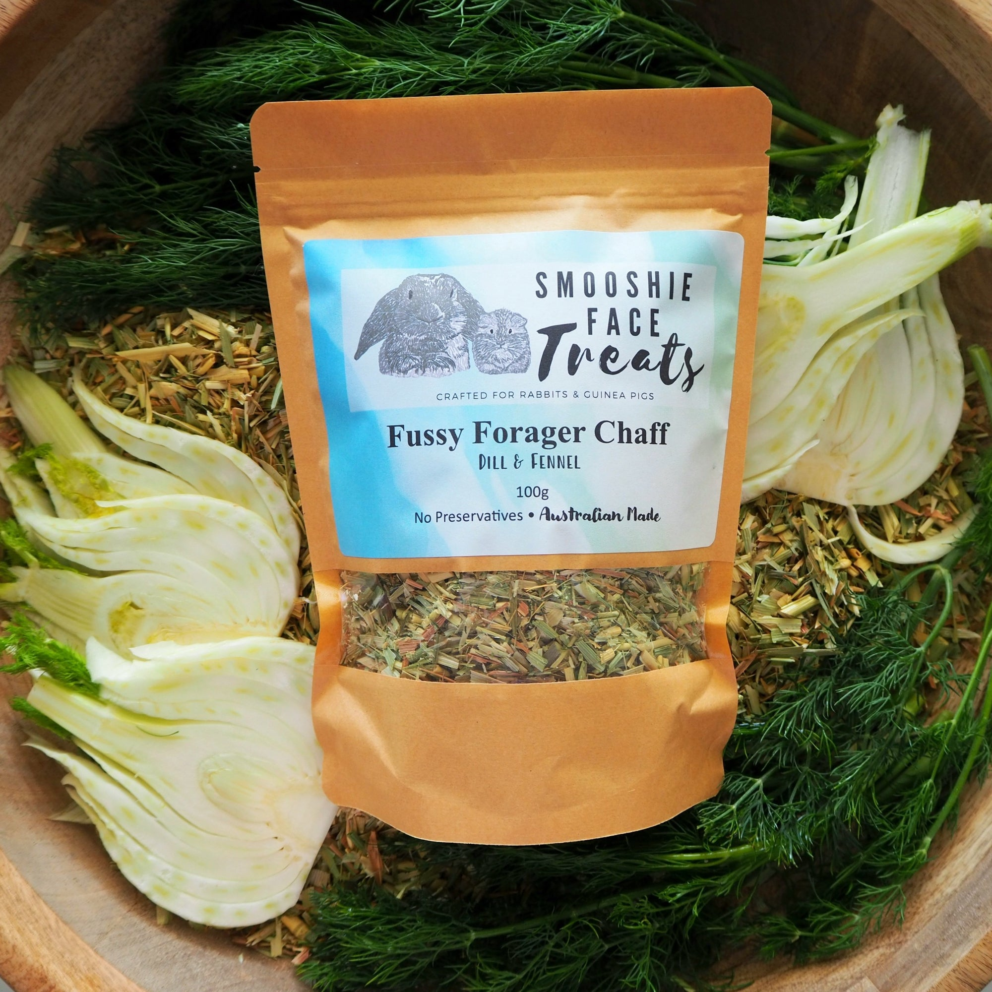 Fussy Forager Chaff 100g