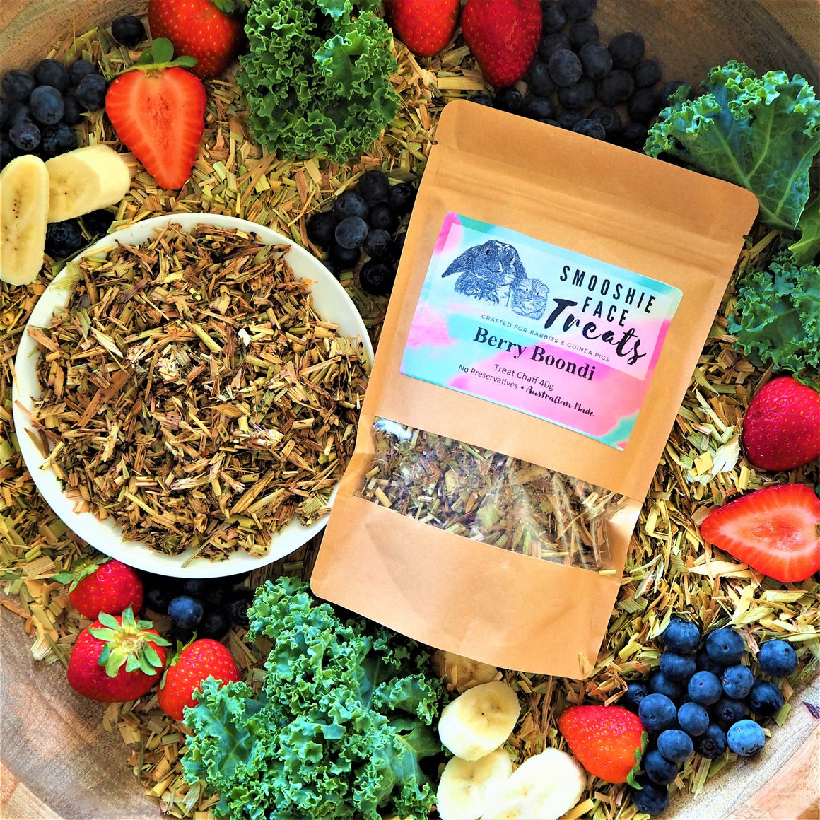 Pet Treat - Treat Chaff - Berry Boondi