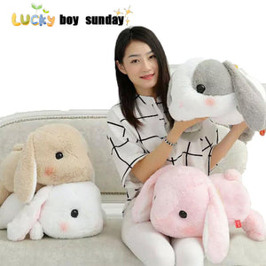 Bunny Rabbit Plush Pillow
