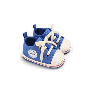 Unisex Canvas Lace-up Shoes