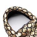Genuine Leather Sequins Baby Moccasins