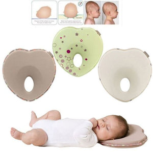 Heart Shaped Baby Flat Head Pillow