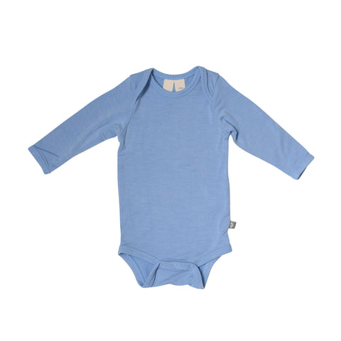 Baby Bamboo Long Sleeve Onesie in Sky