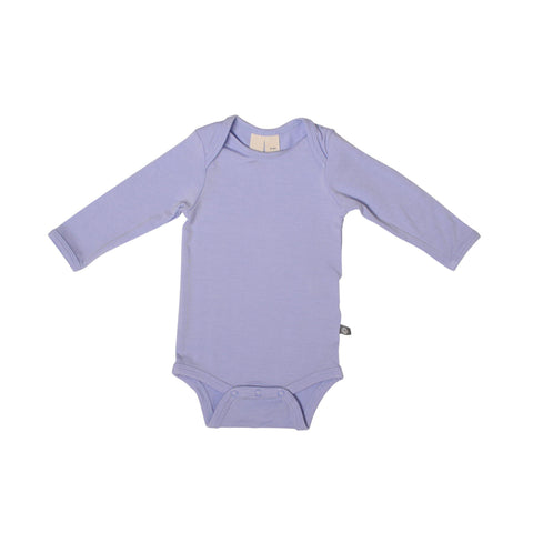 Baby Bamboo Long Sleeve Onesie in Lilac
