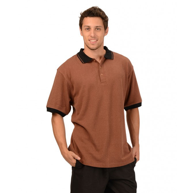 Men's Hemp Rugby Shirt