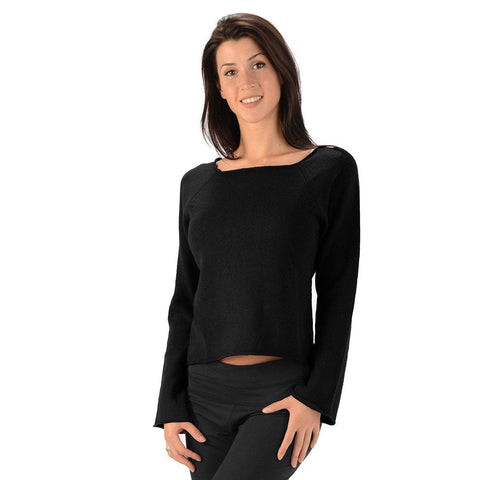 Eco Essentials Women's Hemp Square Neck Sweater from EvolutionMine