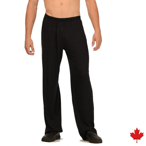 Eco Essentials Men's Bamboo Yoga Pants from EvolutionMine