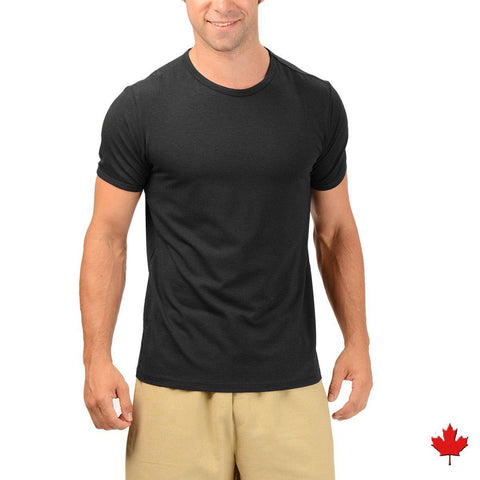 Eco Essentials Men`s Bamboo Fitted T-Shirt from EvolutionMine