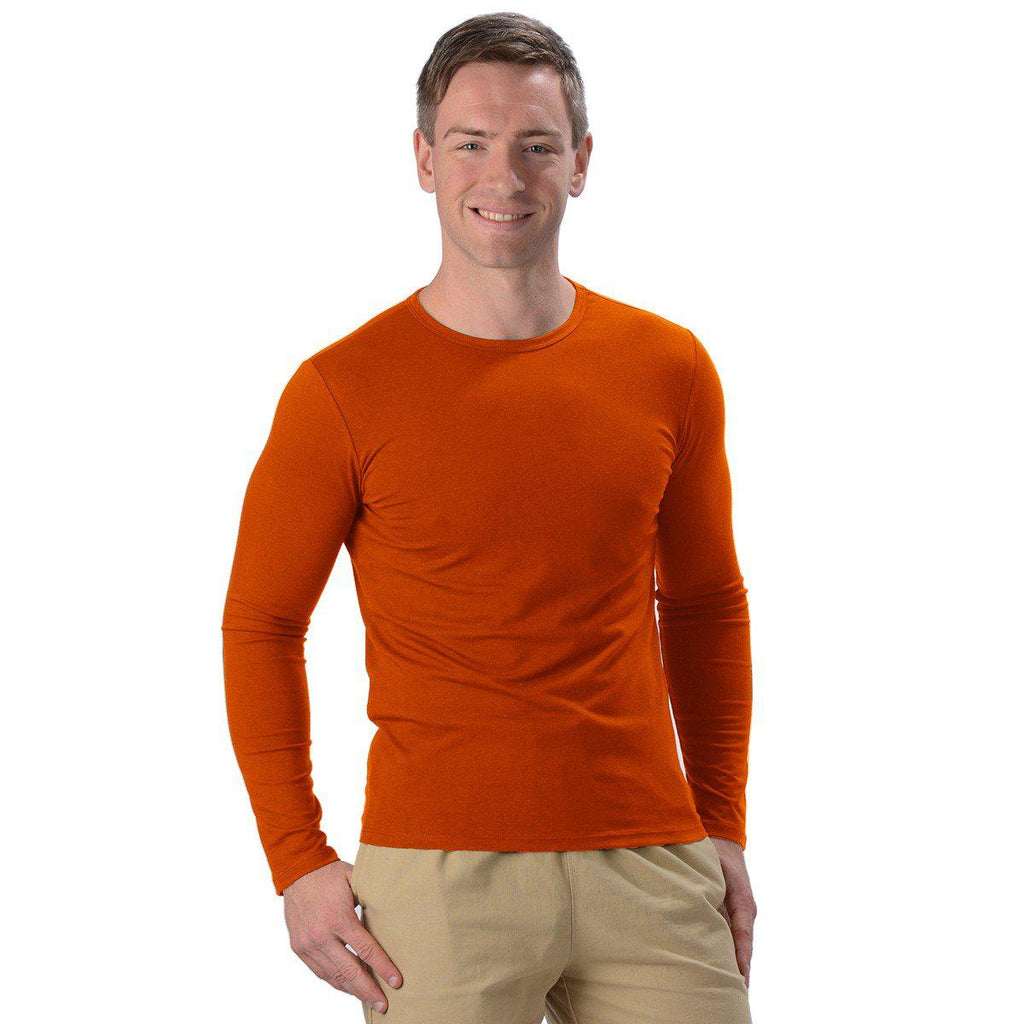 Men's Bamboo Fitted LS Tee