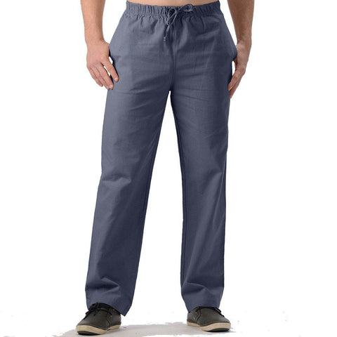 Eco Essentials Men's Hemp/Organic Cotton Drawstring Pants from EvoMine