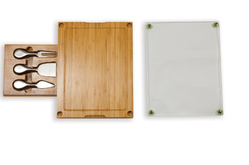 Concerto Bamboo  5-Piece Cheese Board Serving Set