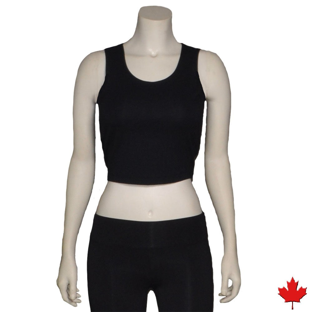 Women's Bamboo Crop Tank