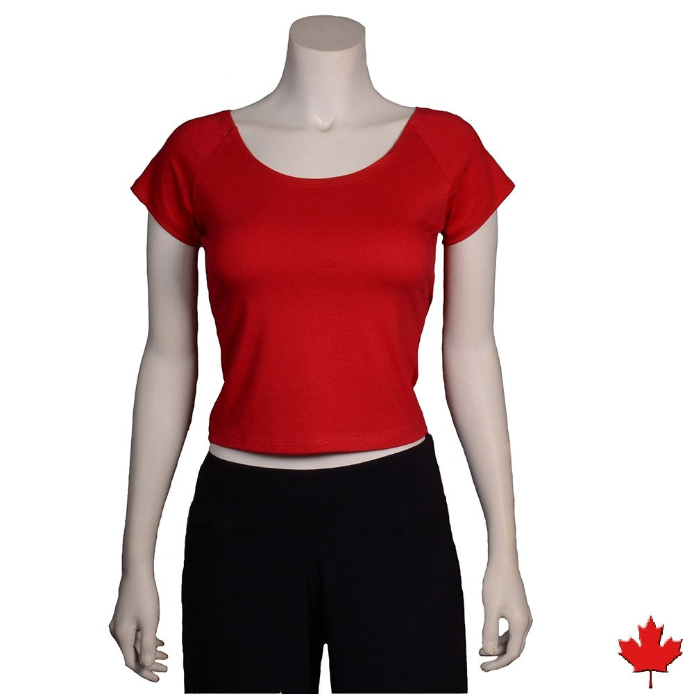Women's Bamboo Midriff Top