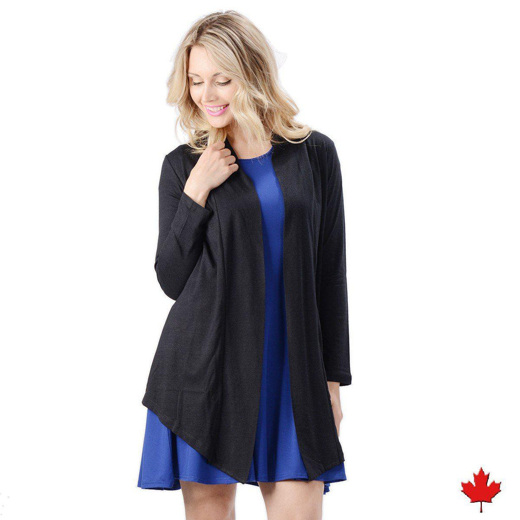 Women's Bamboo Open Cardigan
