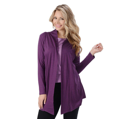 Eco Essentials Women's Bamboo Open Front Cardigan from EvolutionMine