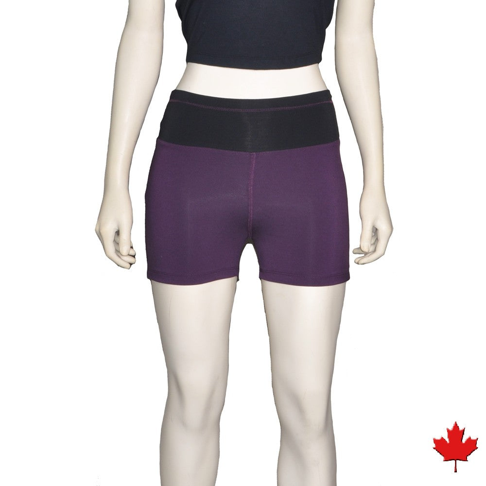 Women's Bamboo Active Shorts