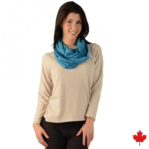 Eco Essentials Bamboo Infinity Scarf from EvolutionMine