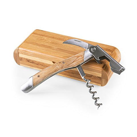Bamboo Waiter's Corkscrew in Bamboo Presentation Box