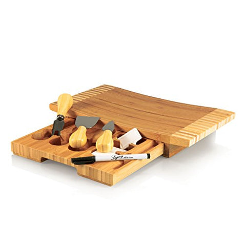 Concavo Bamboo Cheese Board & Cheese Tool Set