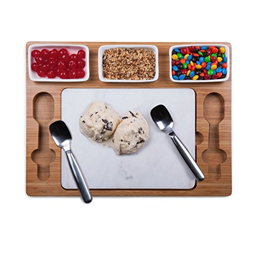 Bamboo Parlor Ice Cream Mixing/Serving Set