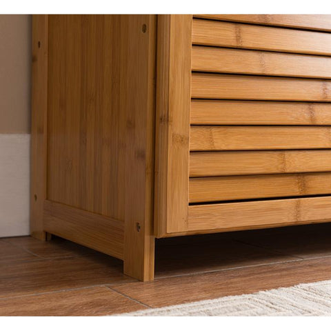 Natural Bamboo Storage Cabinet - Contempo Series
