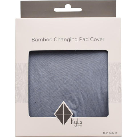 Bamboo Change Pad Cover in Slate