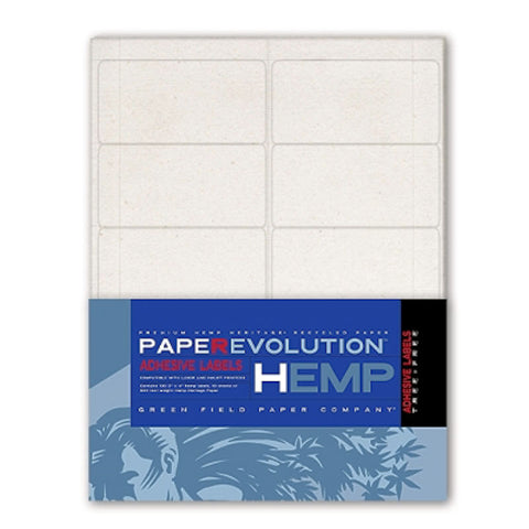 Hemp Heritage Adhesive Labels from Evolution Mine