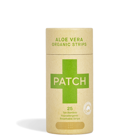 PATCH Natural Organic Bamboo Bandages - Aloe