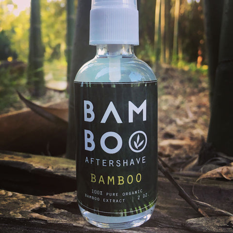 bamboo leaf tea bamboo aftershave from Evolution Mine