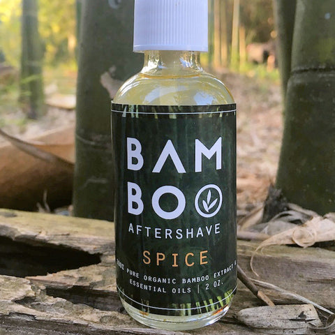bamboo leaf tea bamboo spice aftershave from Evolution Mine