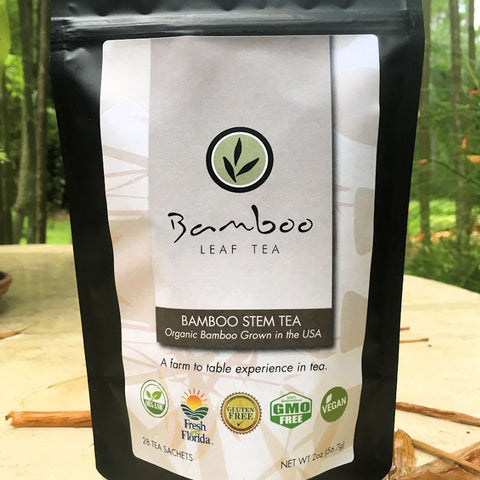 Bamboo Leaf Tea - Bamboo Stem Silica Tea from Evolution Mine