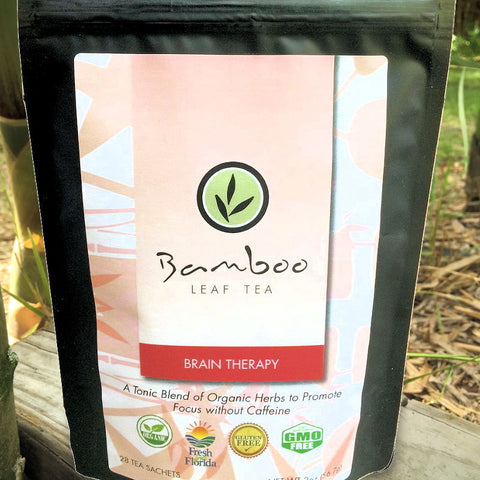 Bamboo Leaf Tea - Bamboo Brain Therapy Tea from Evolution Mine