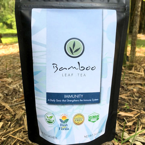 Bamboo Leaf Tea - Bamboo Immunity Therapy Tea from Evolution Mine