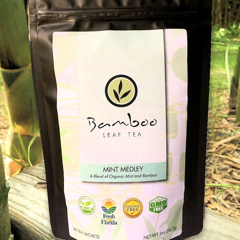 Bamboo Leaf Tea - Bamboo Mint Medley Blend Tea from Evolution Mine