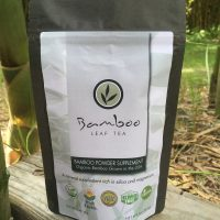 Bamboo Leaf Tea - Bamboo Organic Supplement Powder