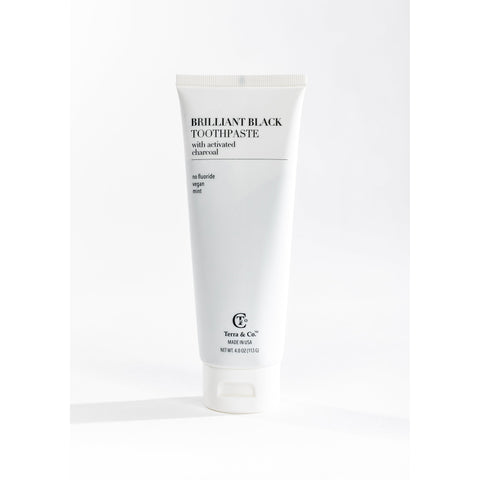 Brilliant Black Bamboo Carbon Toothpaste 4oz