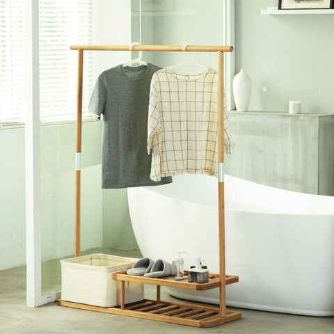 Bamboo Mobile Closet from Evolution Mine