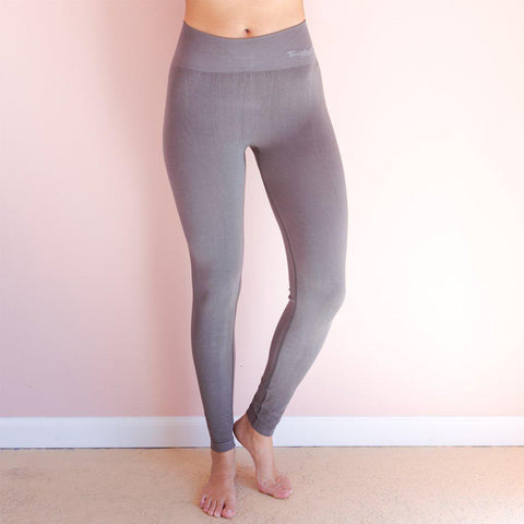 Faceplant Bamboo Women's Leggings - Grey