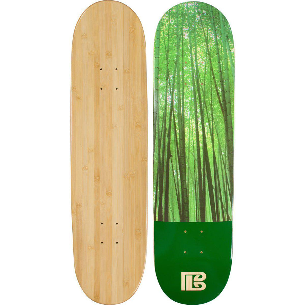Evolution Mine - Bamboo Skateboard - Deck - Earth Series - Forest