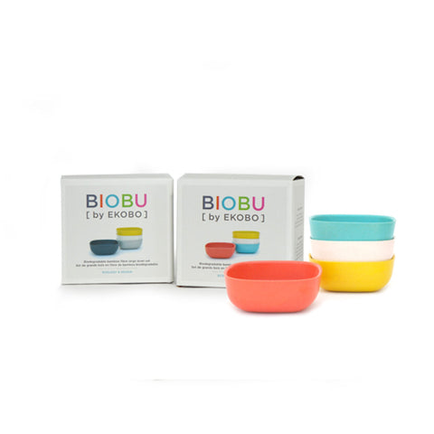 Gusto Bamboo Fiber 8 oz Small Bowl Set by Ekobo