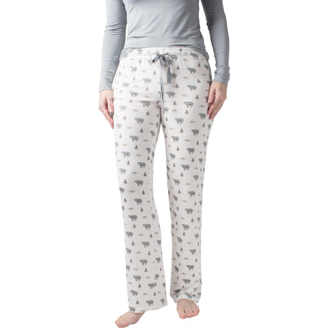"Women's Bamboo ""Kelly""Lounge Pant- in Creek"