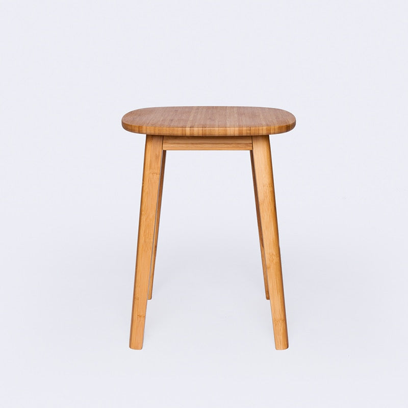 Minimalist Bamboo Accent Table
