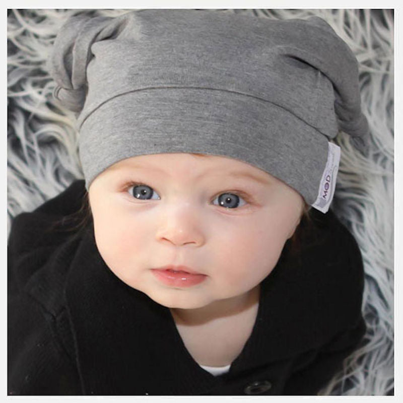 Woombie Bamboo Mod Baby Knot Hat