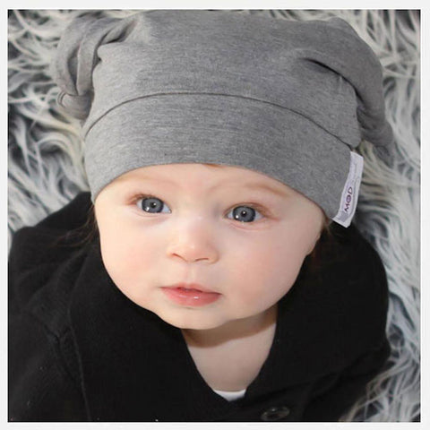 Woombie Bamboo Mod Baby Knot Hat from Evolution Mine