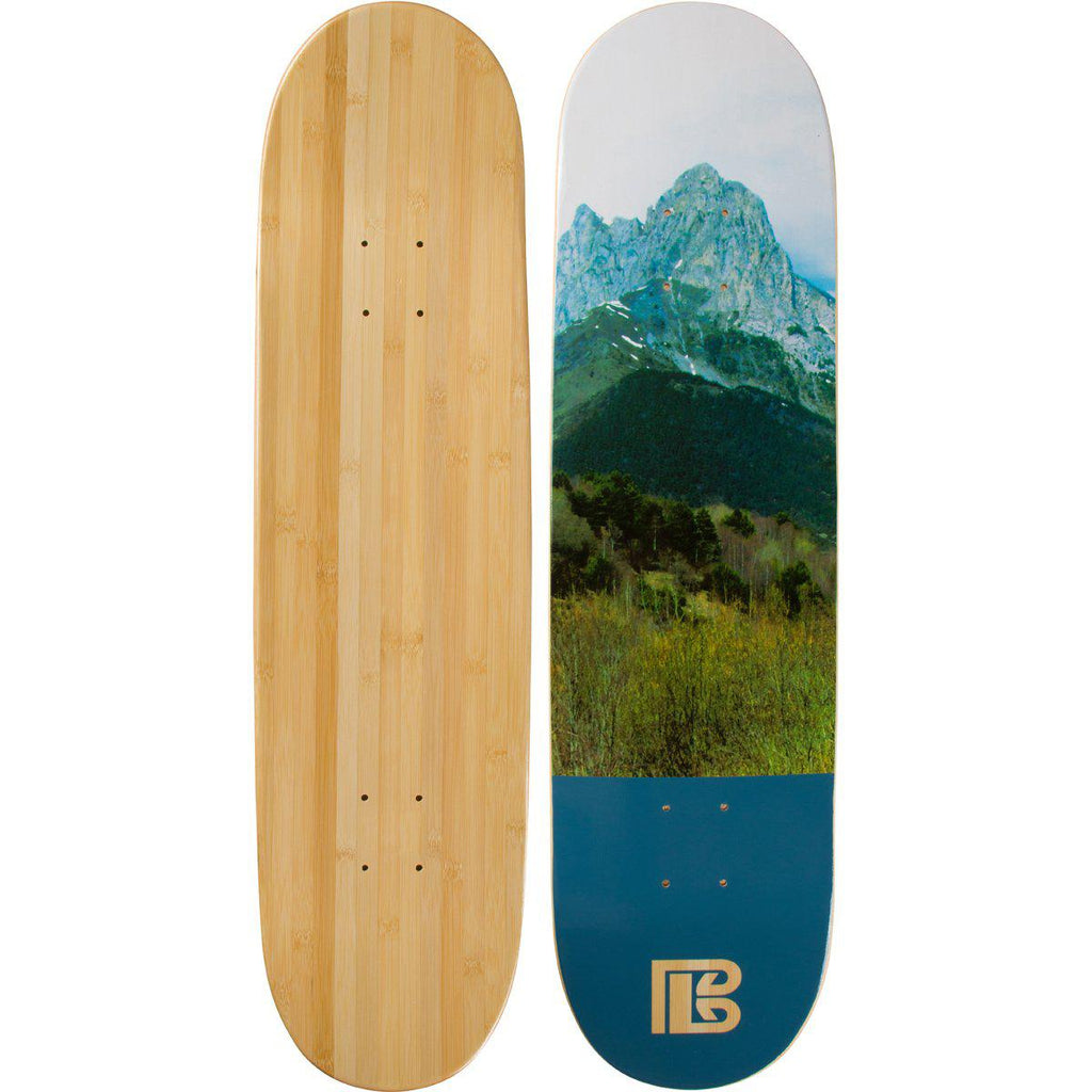 Evolution Mine - Bamboo Skateboard - Deck - Earth Series - Mountain