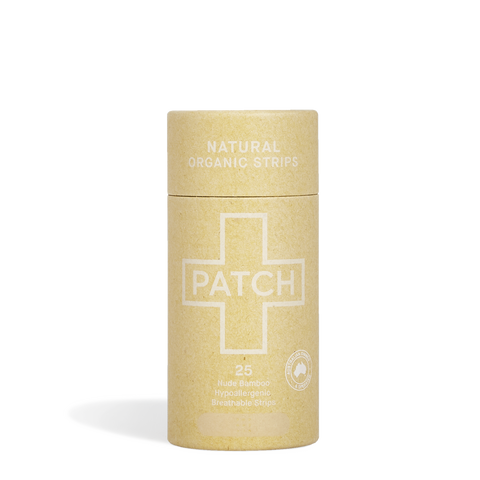 PATCH Natural Organic Bamboo Bandages - Natural
