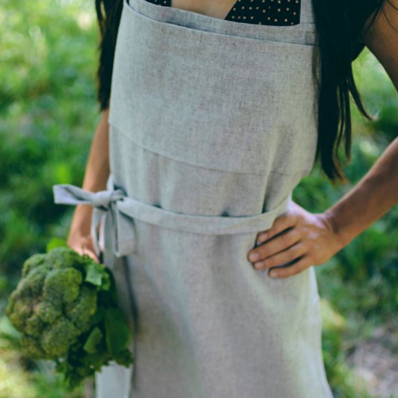 Hemp Organic Life Apron - Long