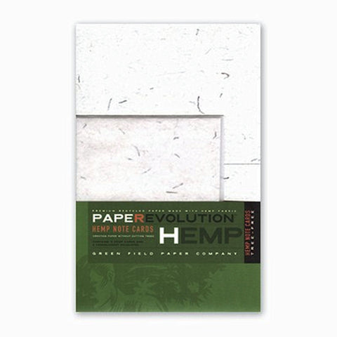 PaperEvolution Hemp Note Set- Hemp Thread Natural from Evolution Mine