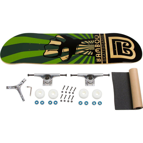 Evolution Mine - Bamboo Skateboard - Deck - Power